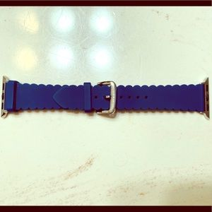 Kate Spade Apple Watch Band in Navy